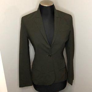 Theory Forrest Green Blazer Jacket